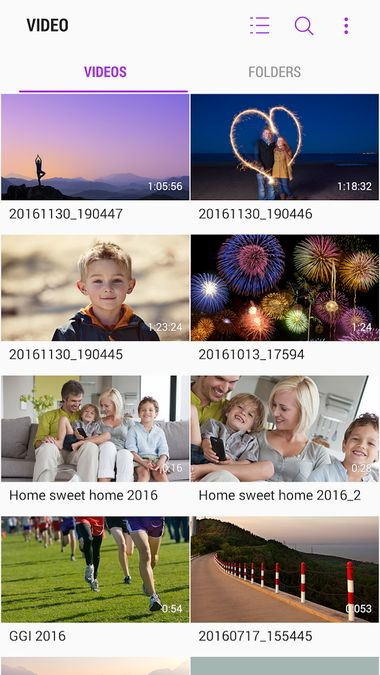 Скачать Samsung Video Library на Андроид — Русская версия screen 1
