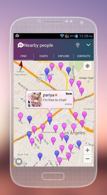 Скачать SayHi на Андроид screen 4