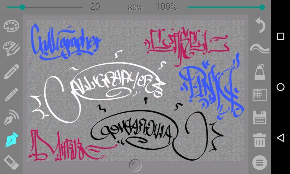Скачать Calligrapher на Андроид — Pro версия screen 1