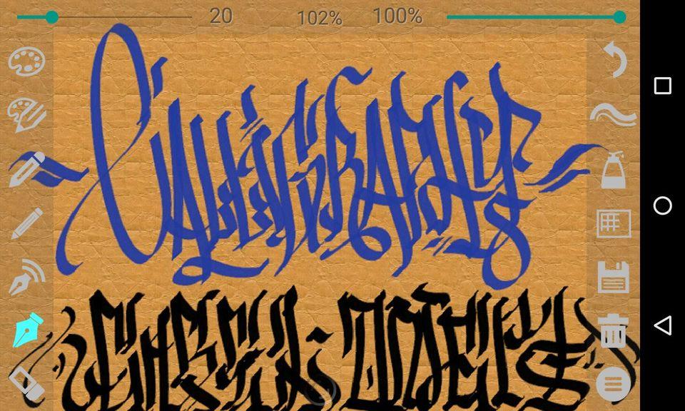 Скачать Calligrapher на Андроид — Pro версия screen 2