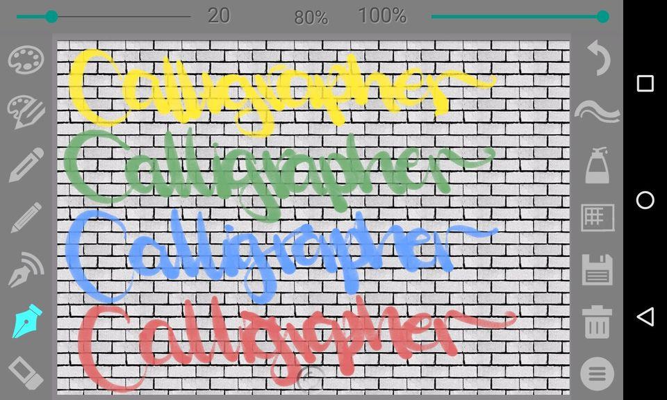 Скачать Calligrapher на Андроид — Pro версия screen 3