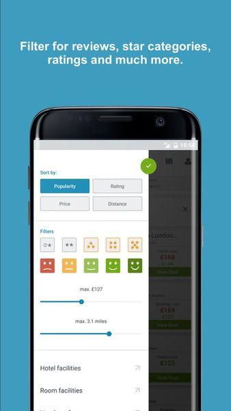 Скачать Trivago на Андроид screen 4