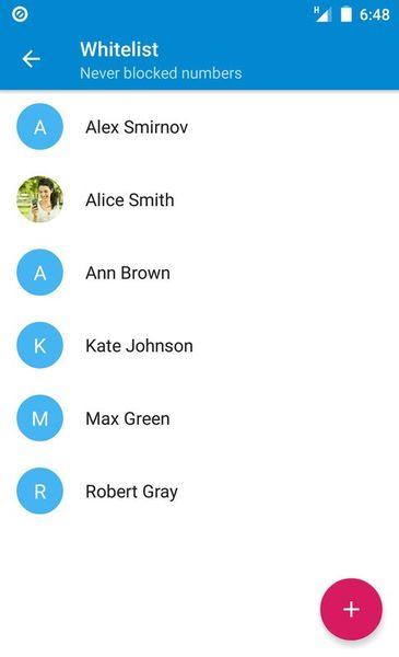 Скачать Блокировка звонков на Андроид screen 4