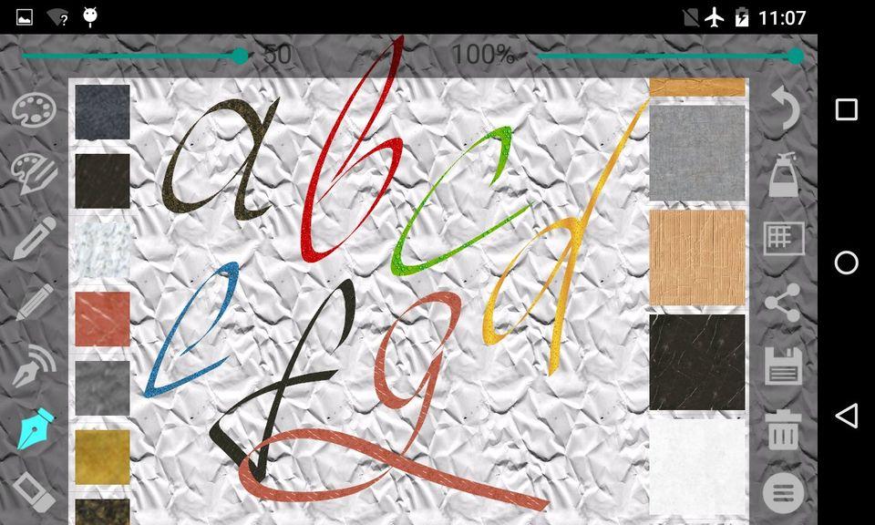 Скачать Calligrapher на Андроид — Pro версия screen 4