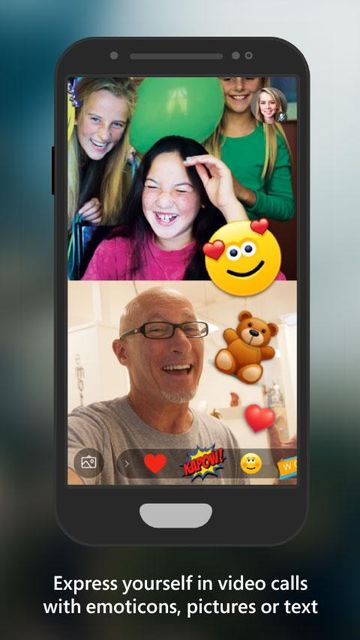 Скачать Skype Preview на Андроид screen 1
