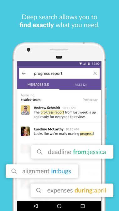 Скачать Slack на Андроид — Полная версия screen 3