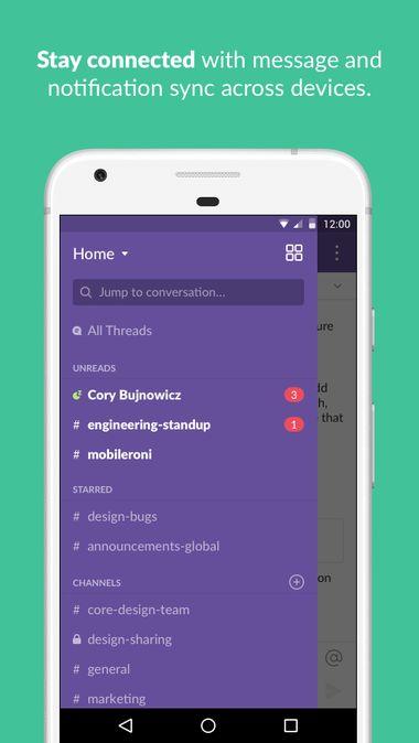 Скачать Slack на Андроид — Полная версия screen 4