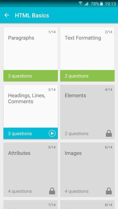 Скачать Учим HTML на Андроид screen 3