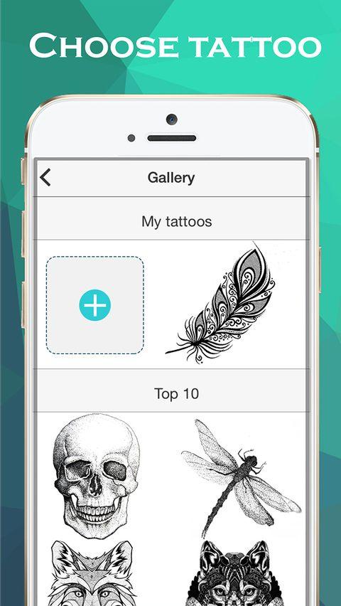 Скачать Ink Hunter Tattoo Maker на Андроид screen 1