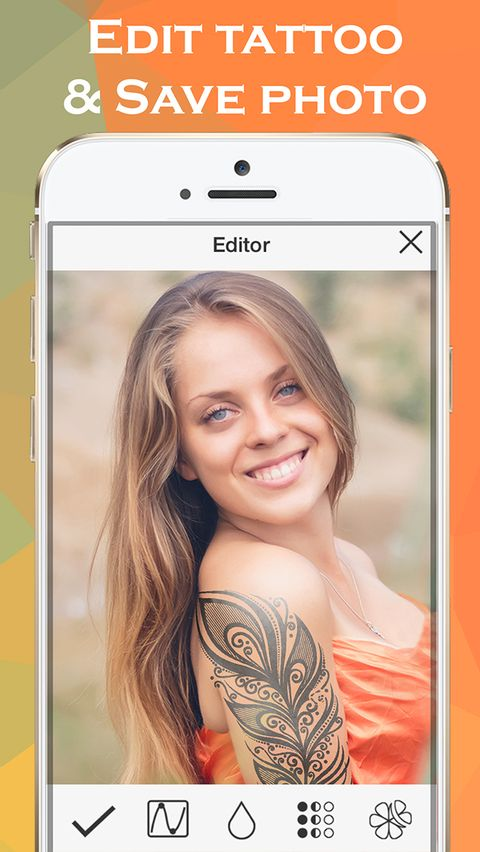 Скачать Ink Hunter Tattoo Maker на Андроид screen 3