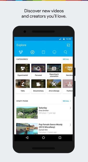Скачать Vimeo на Андроид — Оптимизированная версия screen 4