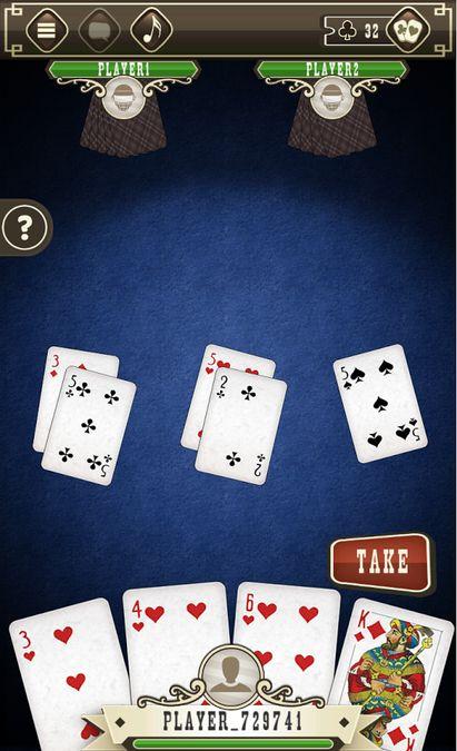 Скачать Карточная игра Дурак на Андроид screen 3