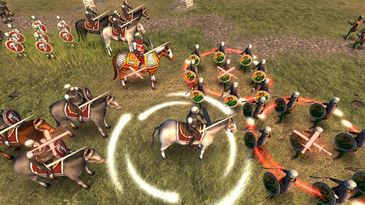 Скачать Hex Commander: Fantasy Heroes на Андроид — Мод много монет screen 4