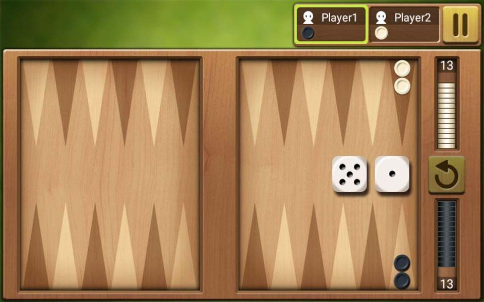 Скачать Короткие нарды Король на Андроид screen 2
