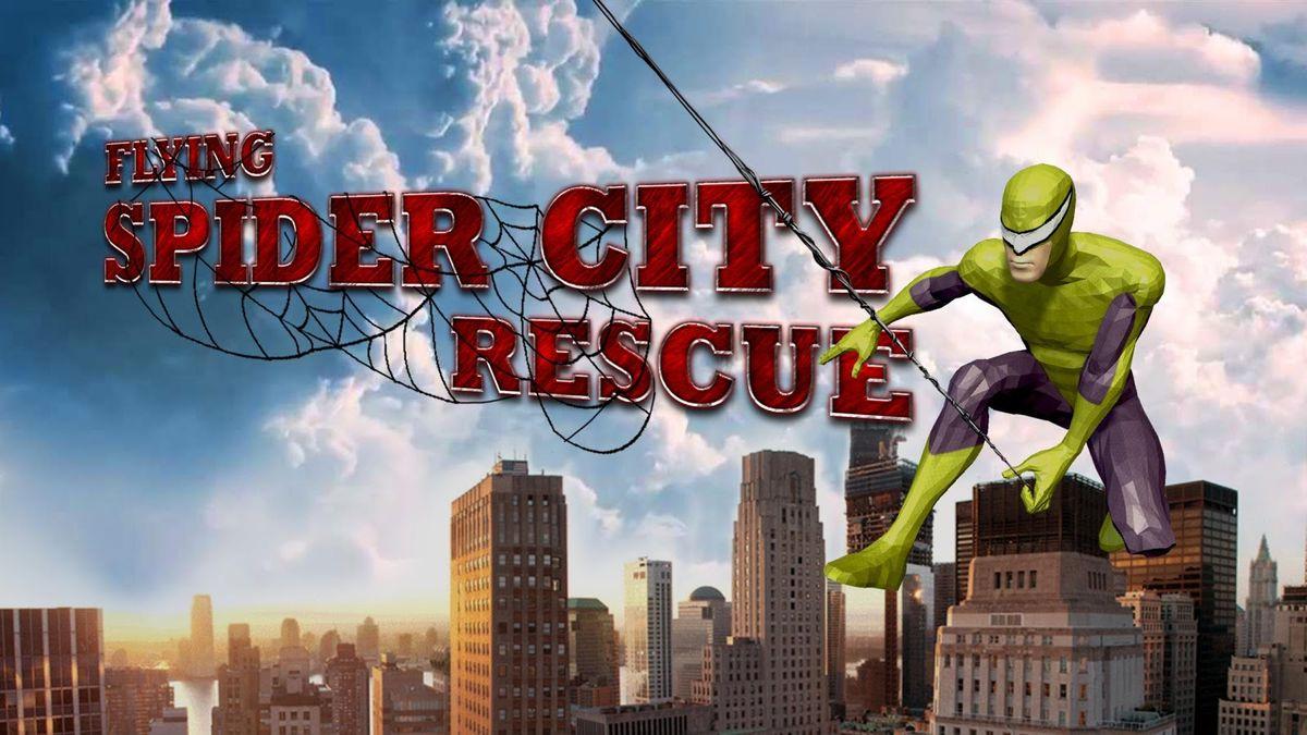 Скачать Super Spider Rescue Hero на Андроид screen 4