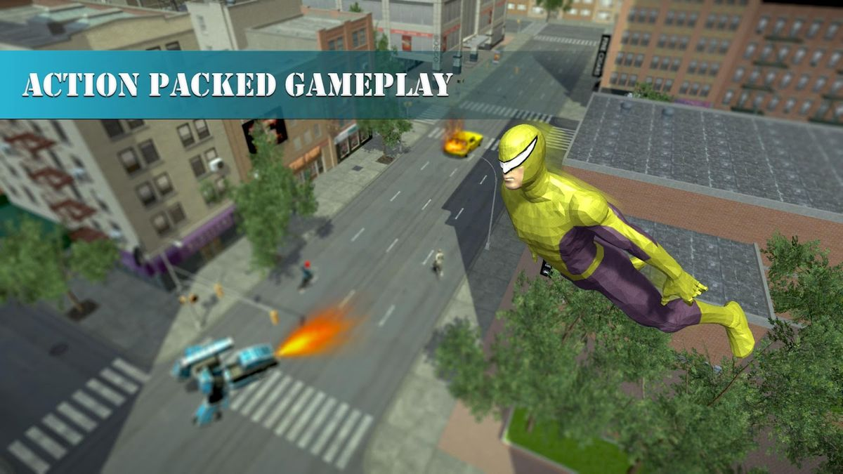 Скачать Super Spider Rescue Hero на Андроид screen 2