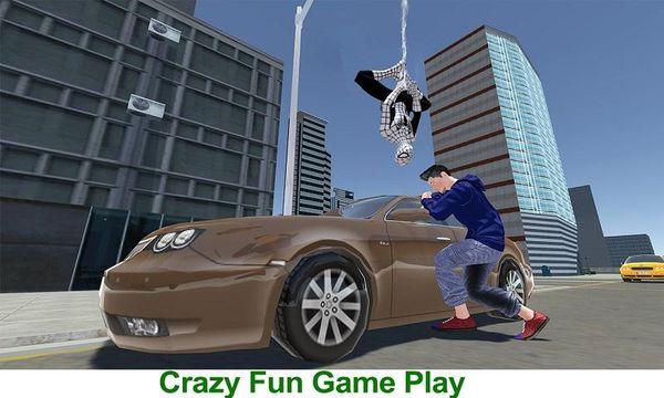 Скачать Flying Spider Hero 3D: New Neighbor Survival на Андроид screen 2