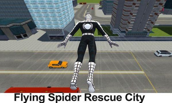 Скачать Flying Spider Hero 3D: New Neighbor Survival на Андроид screen 4
