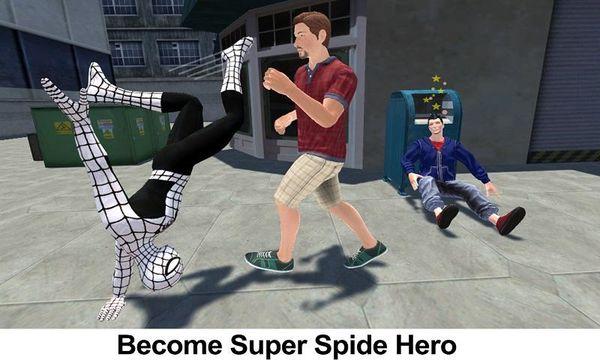 Скачать Flying Spider Hero 3D: New Neighbor Survival на Андроид screen 1
