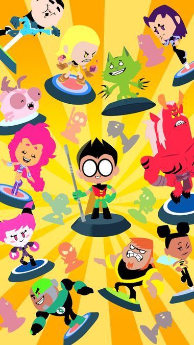 Скачать Teeny Titans — Teen Titans Go! на Андроид — Мод все открыто screen 3