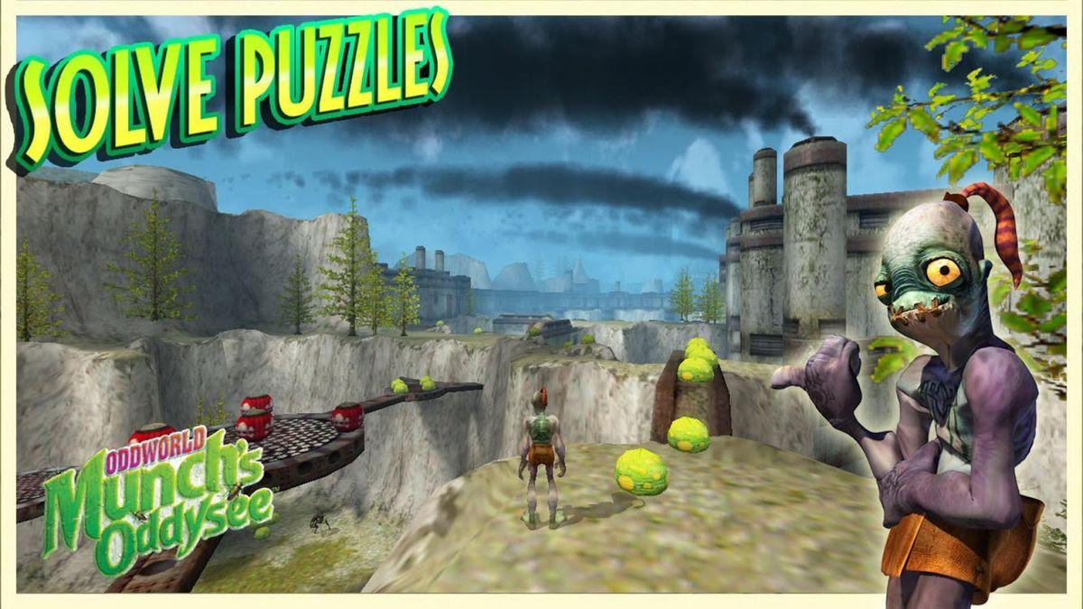 Скачать Oddworld: Munch's Oddysee на Андроид — Полная версия screen 4