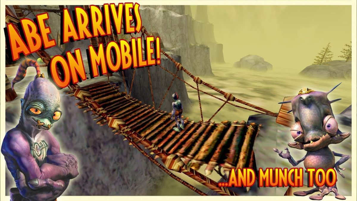 Скачать Oddworld: Munch's Oddysee на Андроид — Полная версия screen 2
