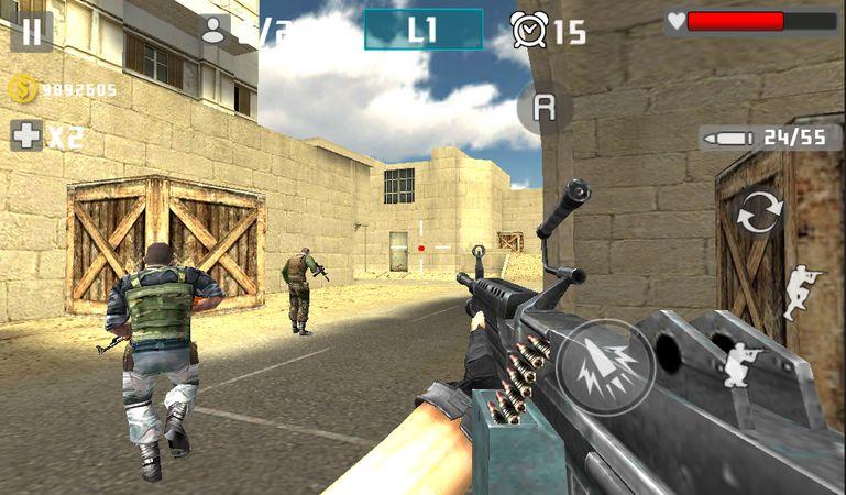 Скачать Gun Shot Fire War на Андроид screen 4