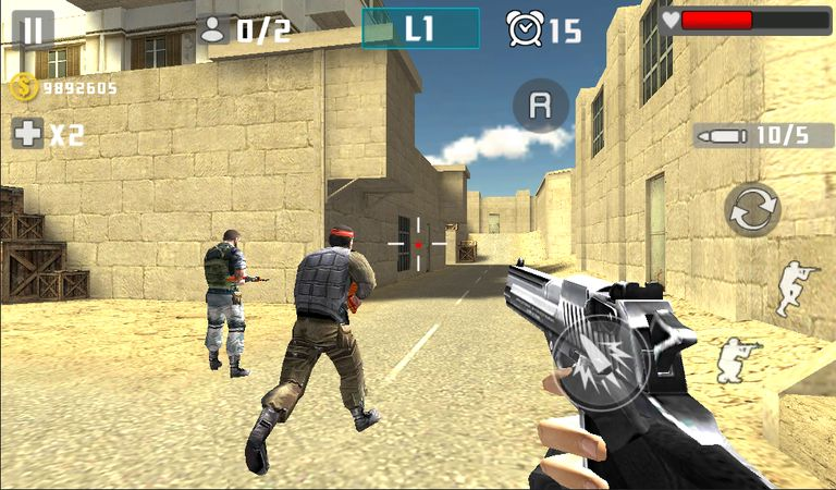 Скачать Gun Shot Fire War на Андроид screen 3