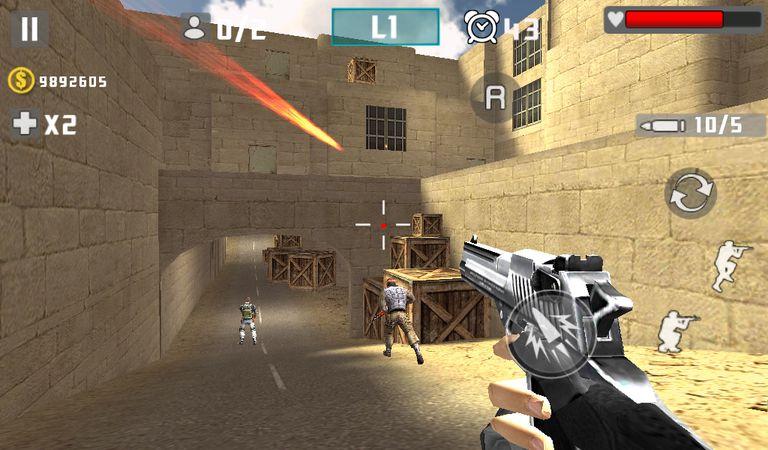 Скачать Gun Shot Fire War на Андроид screen 2