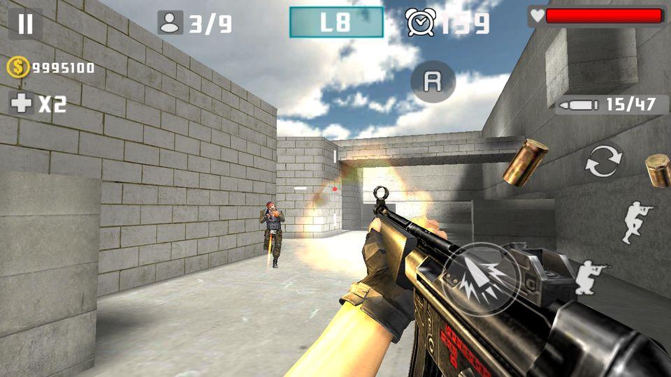 Скачать Gun Shot Fire War на Андроид screen 1