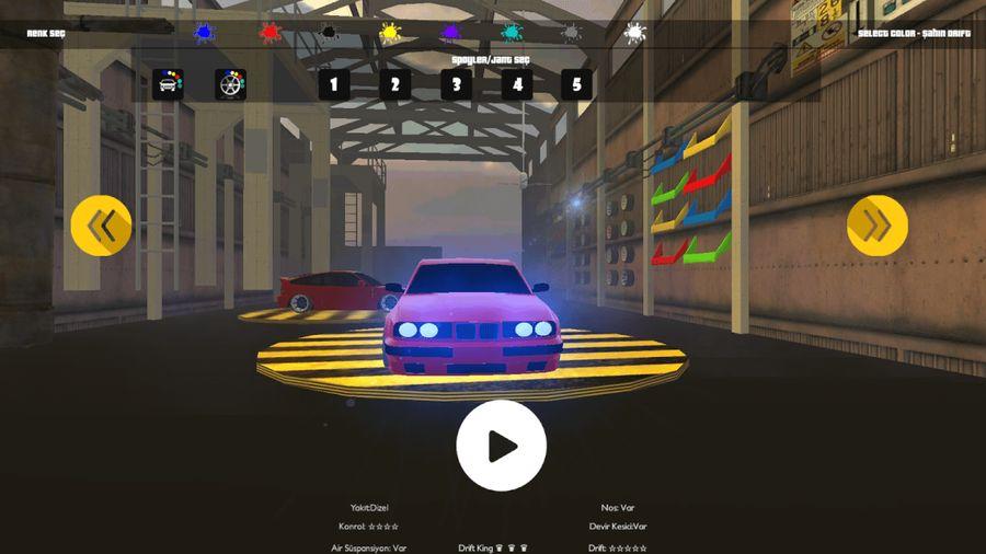 Скачать Şahin Drift 3D(Bmw) на Андроид screen 1