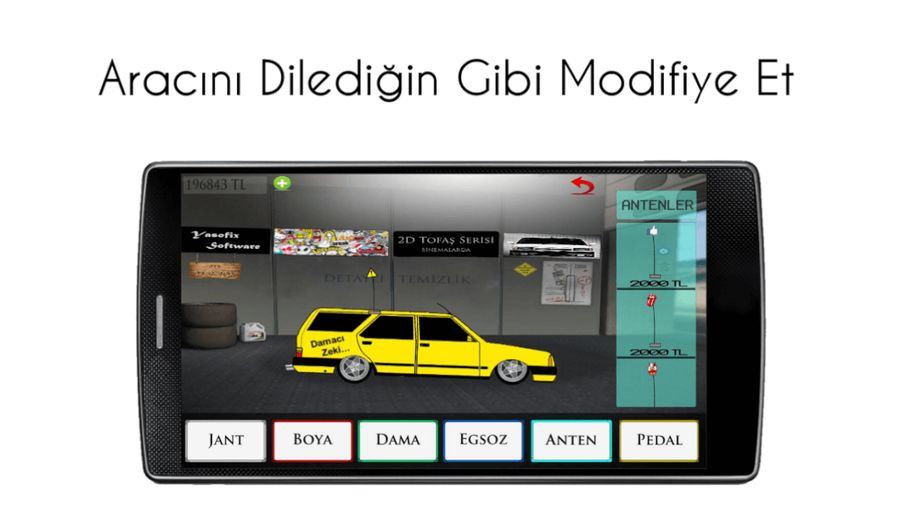 Скачать 2D Tofaş Serisi на Андроид screen 3