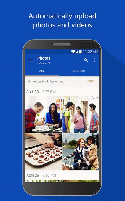 Скачать Microsoft OneDrive на Андроид — Оптимизированная версия screen 1