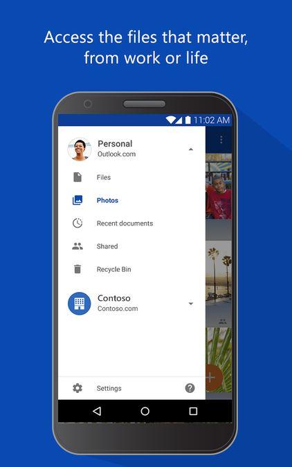 Скачать Microsoft OneDrive на Андроид — Оптимизированная версия screen 2