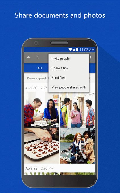 Скачать Microsoft OneDrive на Андроид — Оптимизированная версия screen 3