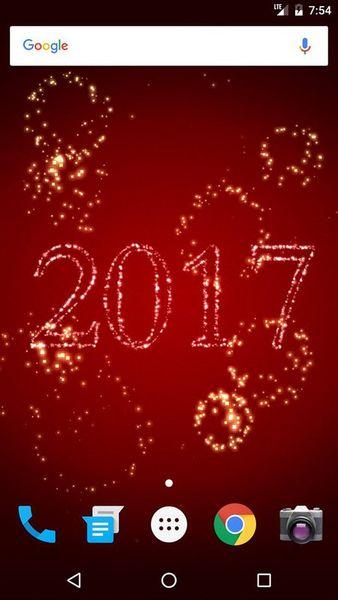 Скачать Новый Год фейерверки на Андроид screen 1