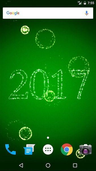 Скачать Новый Год фейерверки на Андроид screen 2