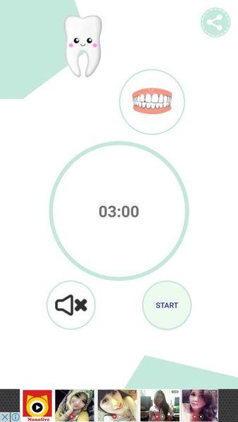 Скачать Чистка зубов. Таймер на Андроид screen 3