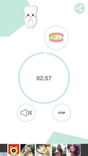 Скачать Чистка зубов. Таймер на Андроид screen 1