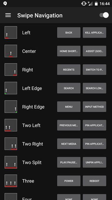 Скачать Swipe Navigation на Андроид — Русская версия screen 1