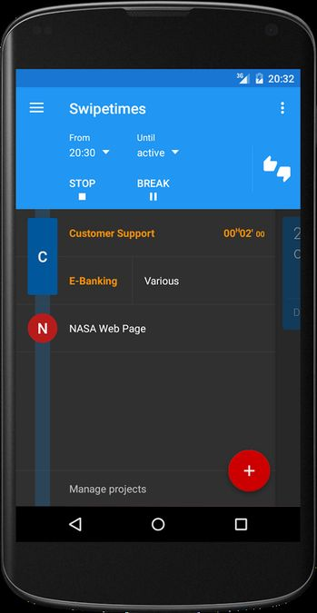 Скачать Swipetimes на Андроид — Мод Unlocked screen 2