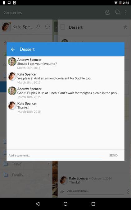 Скачать Wunderlist на Андроид — Final Pro screen 2