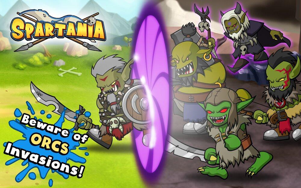 Скачать Spartania: The Spartan War на Андроид — Мод (Много Денег) screen 4