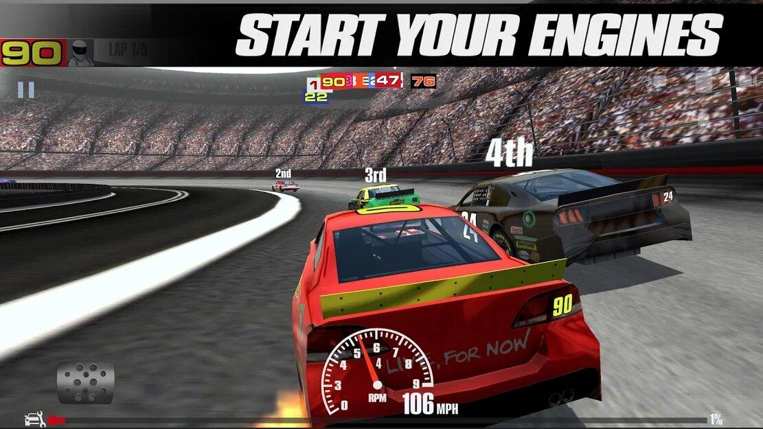Скачать Stock Car Racing на Андроид — Мод (Много денег) screen 4