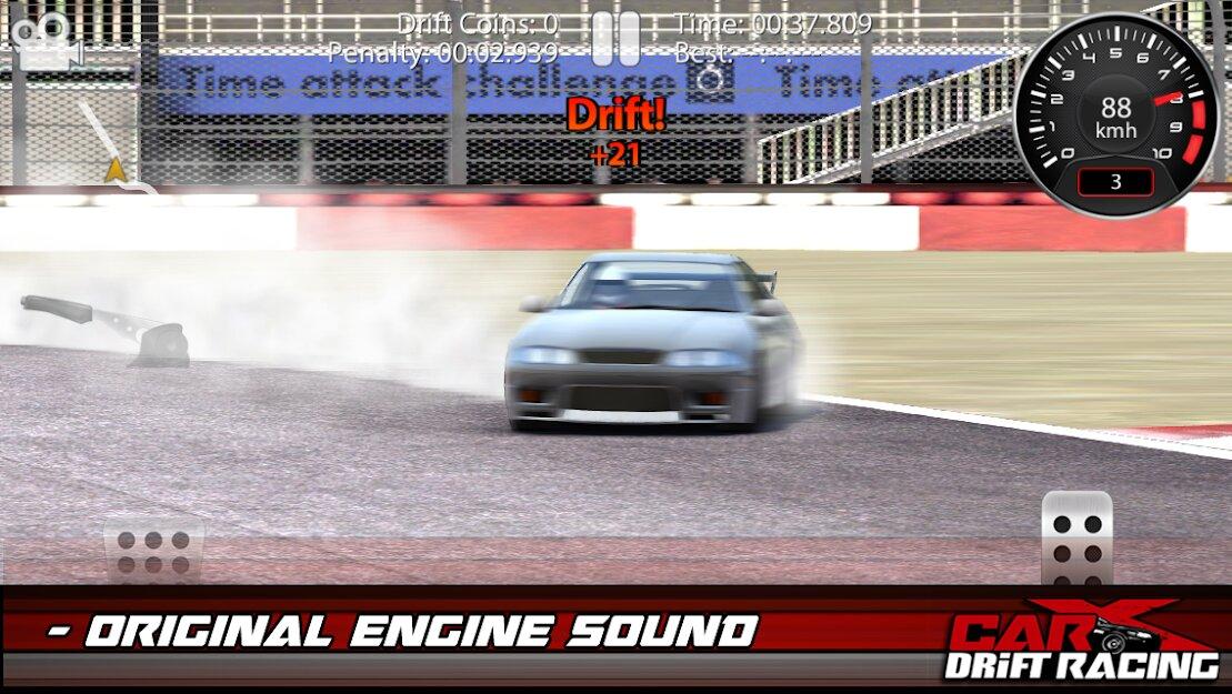 Скачать CarX Drift Racing Lite на Андроид — Мод (Много денег) screen 3