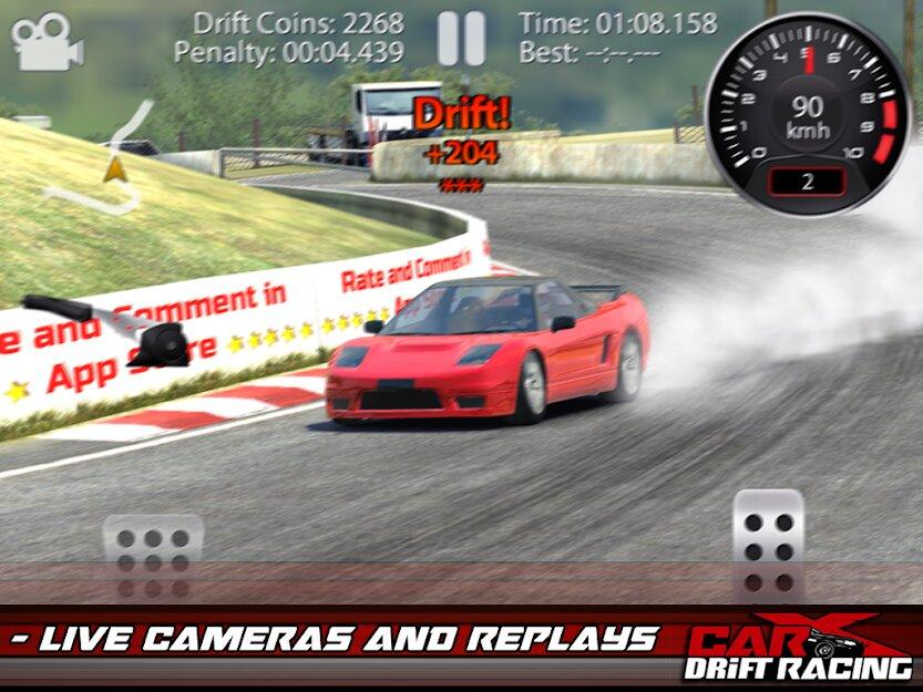 Скачать CarX Drift Racing Lite на Андроид — Мод (Много денег) screen 2