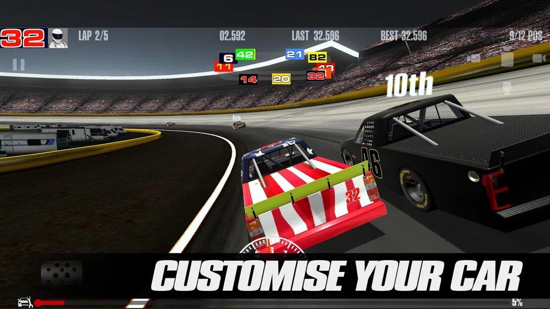 Скачать Stock Car Racing на Андроид — Мод (Много денег) screen 3