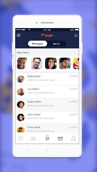 Скачать Знакомства Mingle – Общение одиноких на Андроид — Полный доступ screen 1