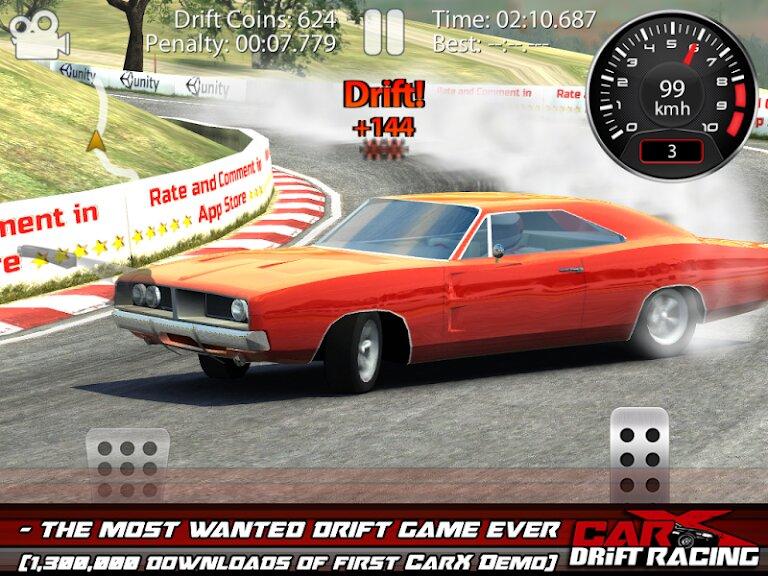 Скачать CarX Drift Racing Lite на Андроид — Мод (Много денег) screen 1