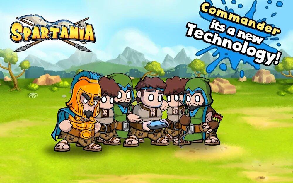 Скачать Spartania: The Spartan War на Андроид — Мод (Много Денег) screen 1